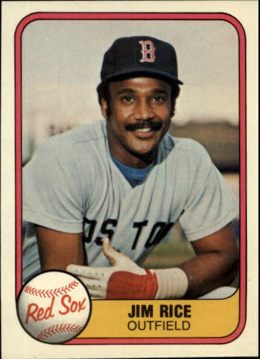 1981 Fleer #222 Jim Rice