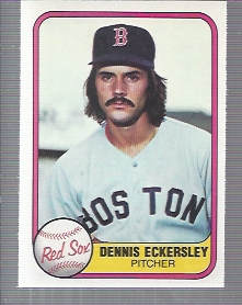 1981 Fleer #226 Dennis Eckersley