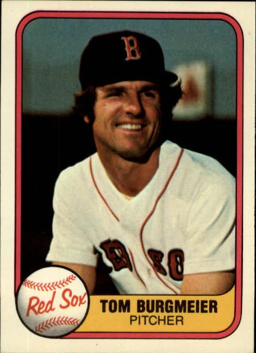 1981 Fleer #228 Tom Burgmeier