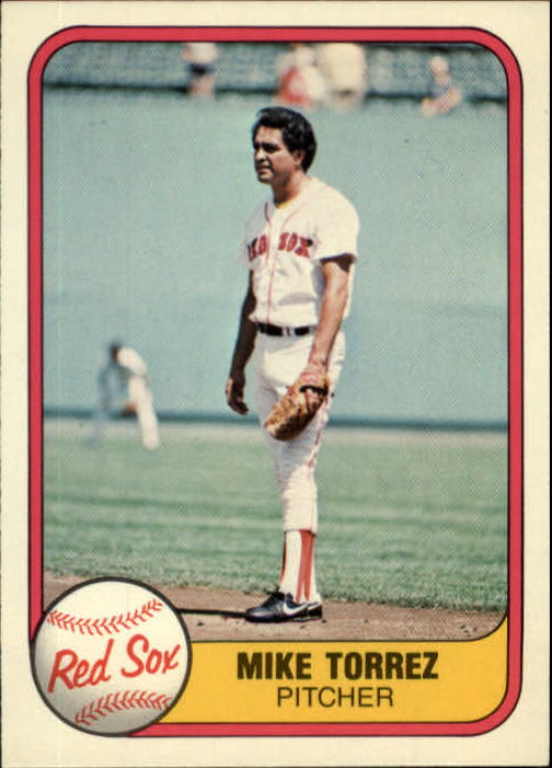 1981 Fleer #233 Mike Torrez