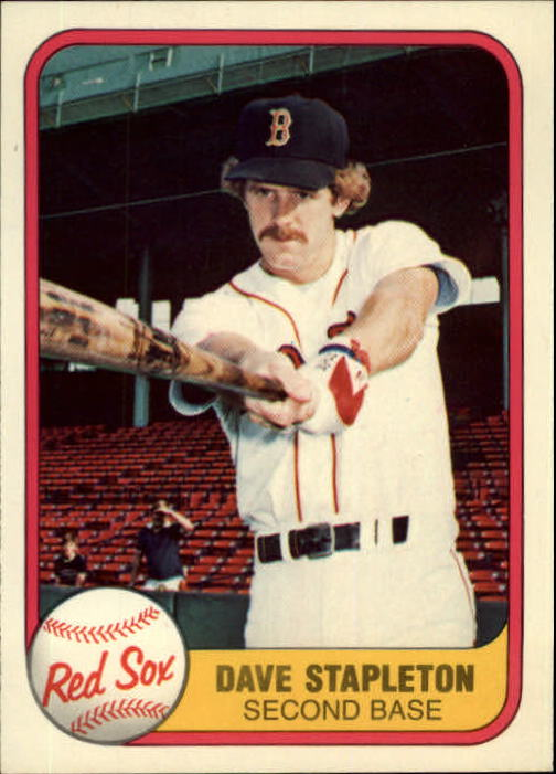 1981 Fleer #236 Dave Stapleton