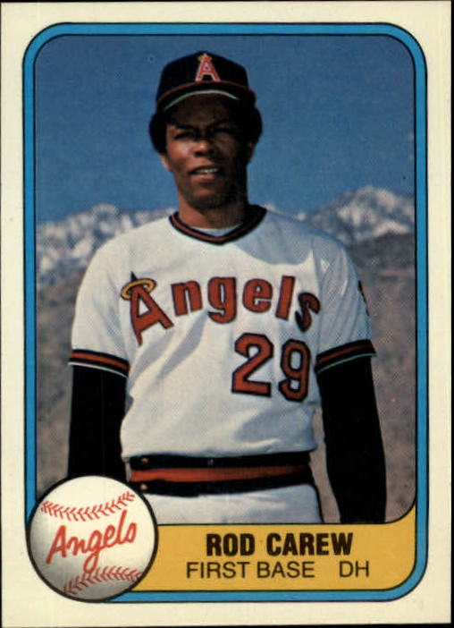 1981 Fleer #268 Rod Carew