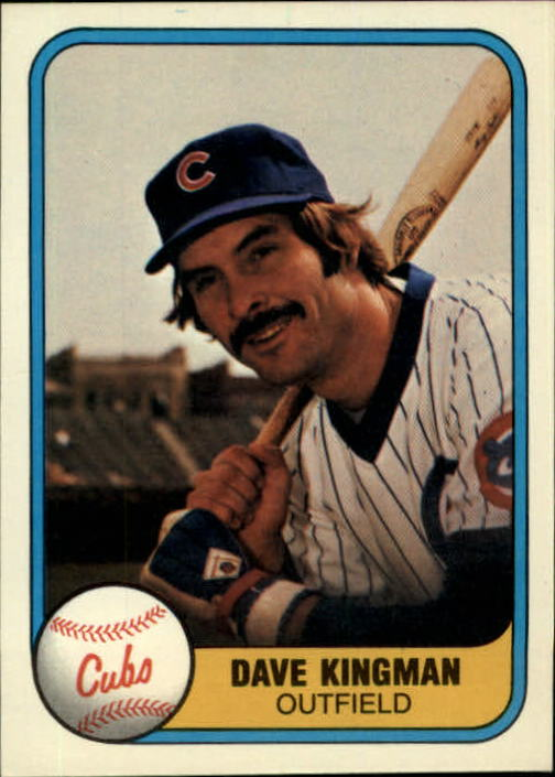 1981 Fleer #291 Dave Kingman