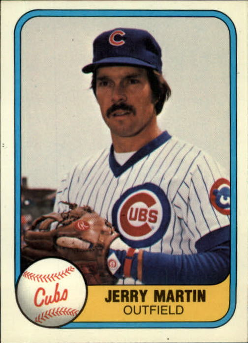 1981 Fleer #295 Jerry Martin