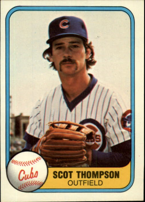 1981 Fleer #296 Scot Thompson