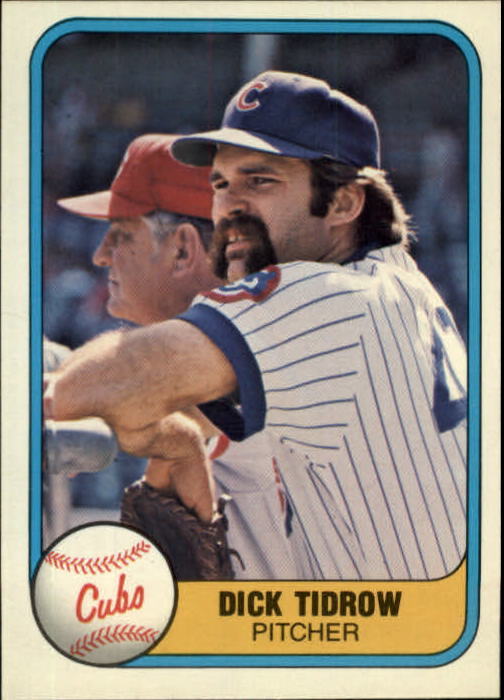 1981 Fleer #299 Dick Tidrow