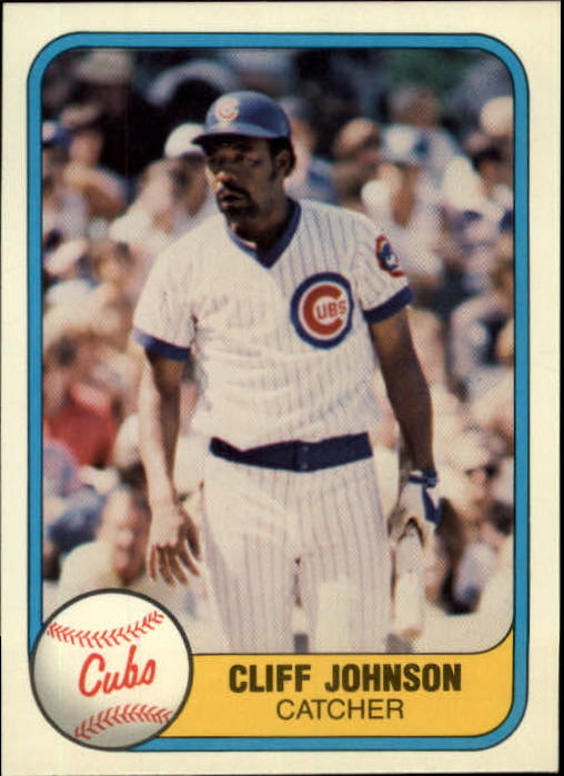 1981 Fleer #303 Cliff Johnson