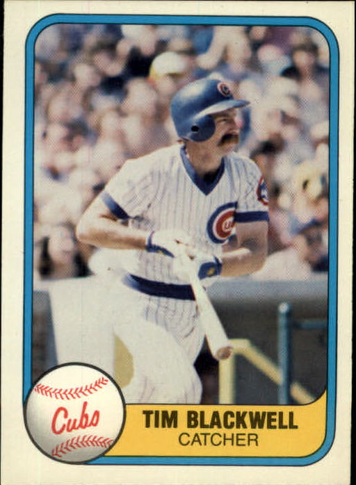 1981 Fleer #304 Tim Blackwell