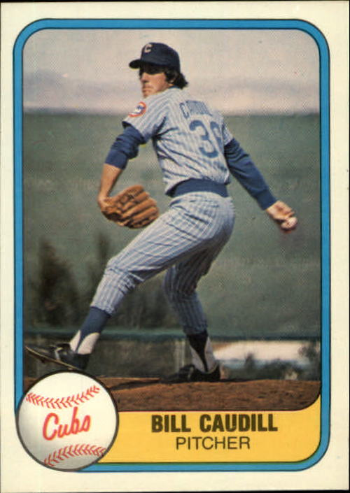 1981 Fleer #306 Bill Caudill