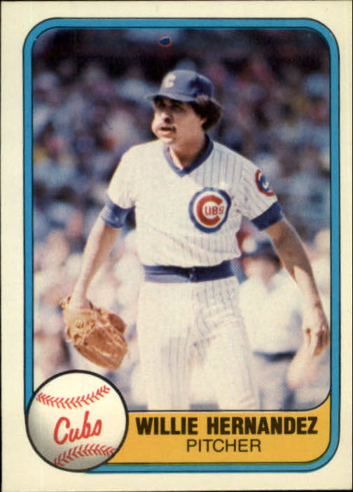 1981 Fleer #310 Willie Hernandez