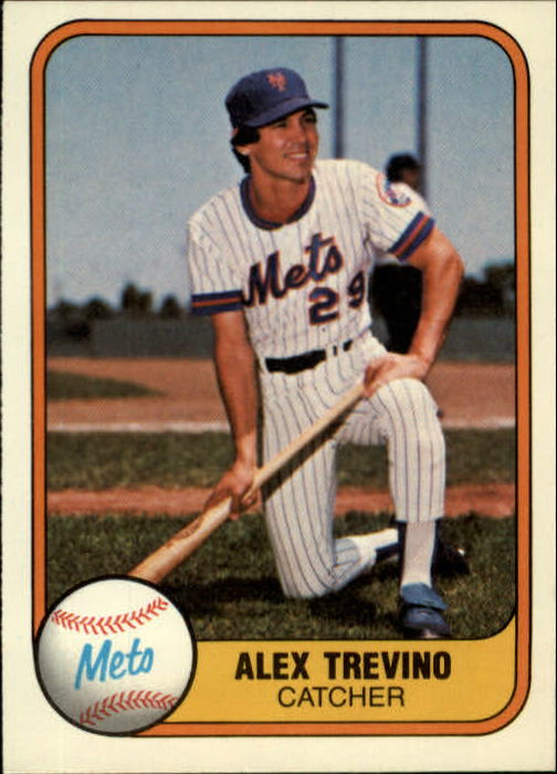1981 Fleer #318 Alex Trevino