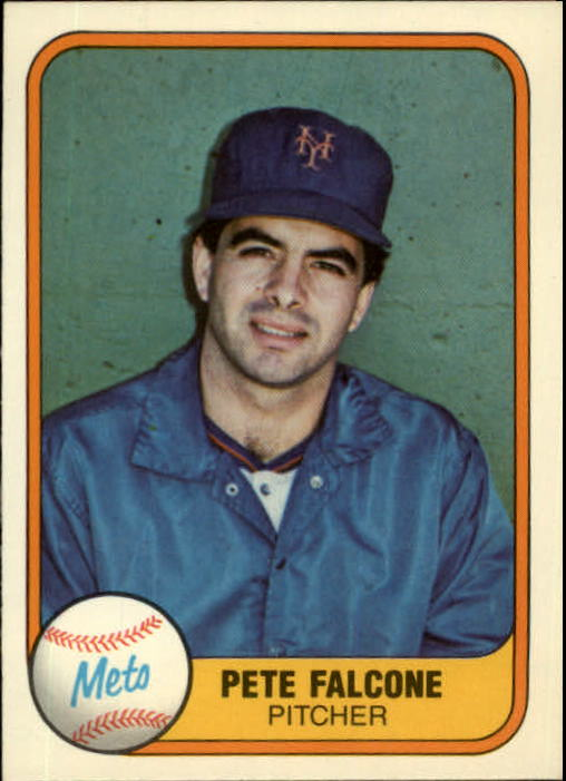 1981 Fleer #327 Pete Falcone