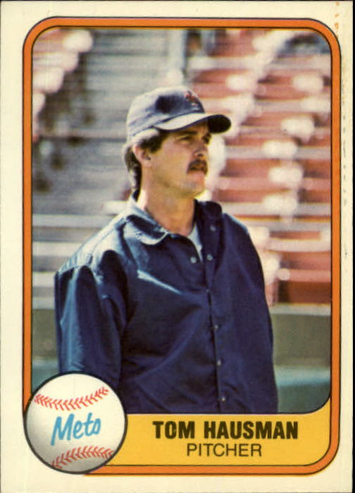 1981 Fleer #333 Tom Hausman