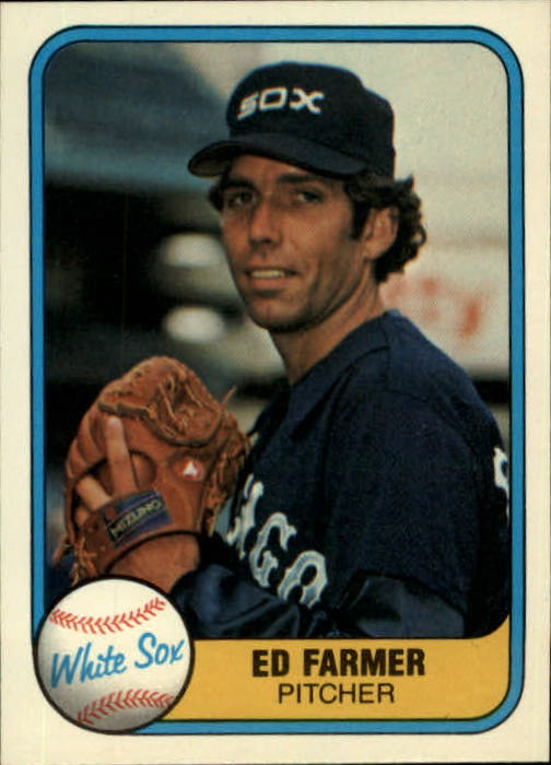 1981 Fleer #339 Ed Farmer