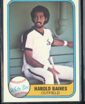 1981 Fleer #346 Harold Baines RC