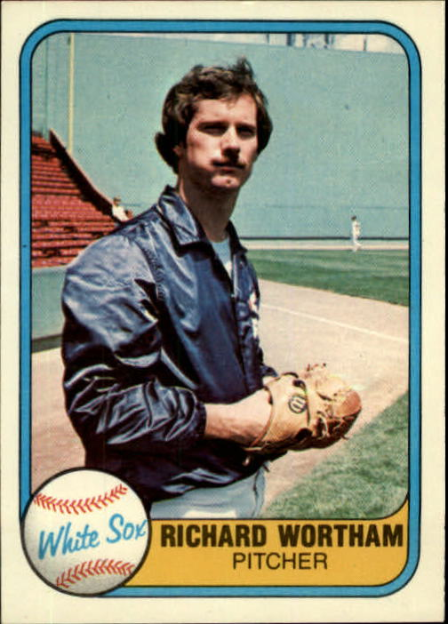 1981 Fleer #347 Richard Wortham