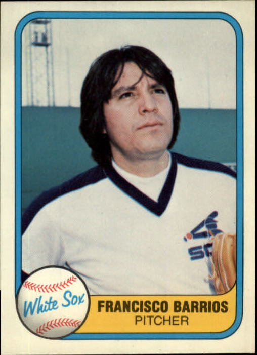 1981 Fleer #352 Francisco Barrios
