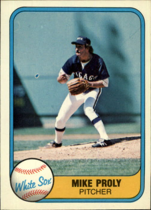 1981 Fleer #358 Mike Proly