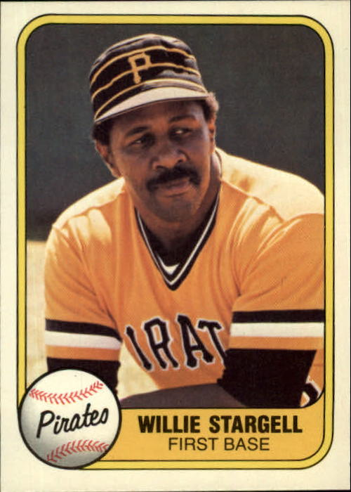 1981 Fleer #363 Willie Stargell