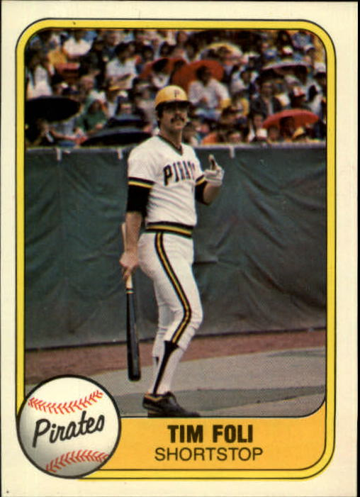 1981 Fleer #379 Tim Foli