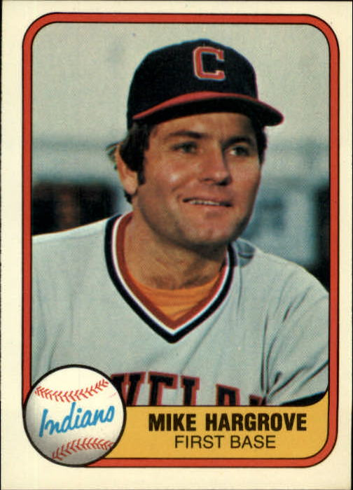 1981 Fleer #387 Mike Hargrove