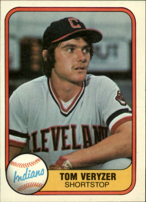 1981 Fleer #390 Tom Veryzer