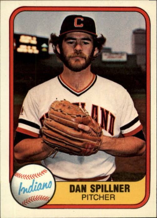 1981 Fleer #392 Dan Spillner