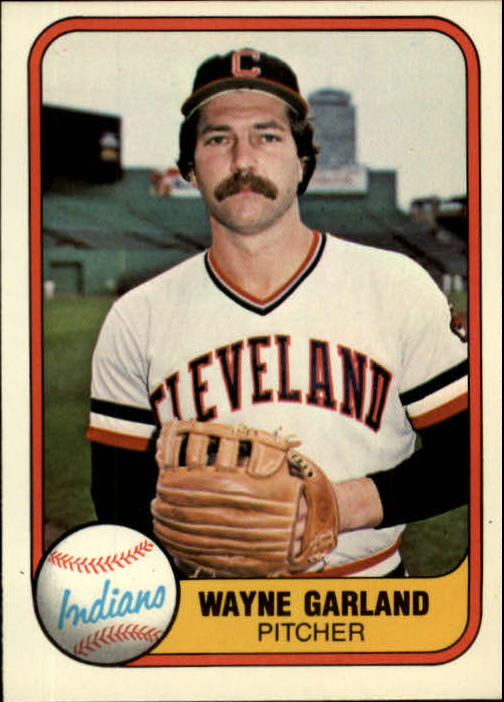 1981 Fleer #394 Wayne Garland