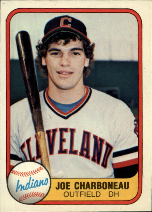 1981 Fleer #397 Joe Charboneau RC