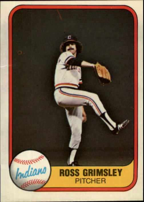1981 Fleer #406 Ross Grimsley