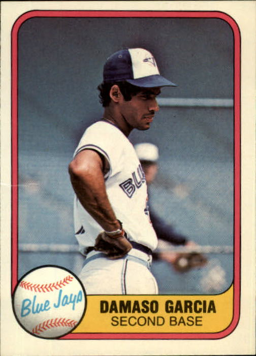1981 Fleer #415 Damaso Garcia