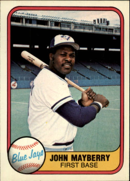 1981 Fleer #416 John Mayberry