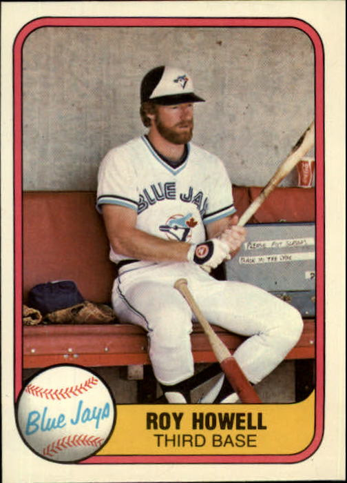 1981 Fleer #417 Roy Howell