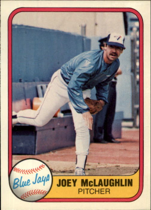 1981 Fleer #420 Joey McLaughlin