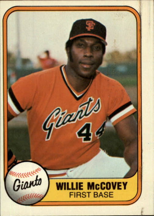 1981 Fleer #434 Willie McCovey