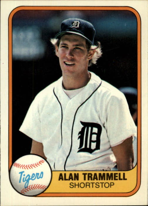 1981 Fleer #461 Alan Trammell