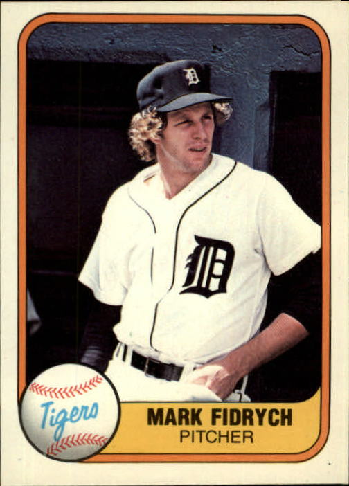 1981 Fleer #462 Mark Fidrych