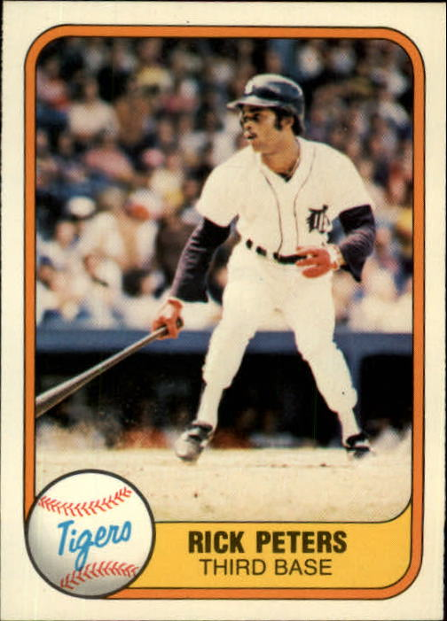 1981 Fleer #470 Rick Peters
