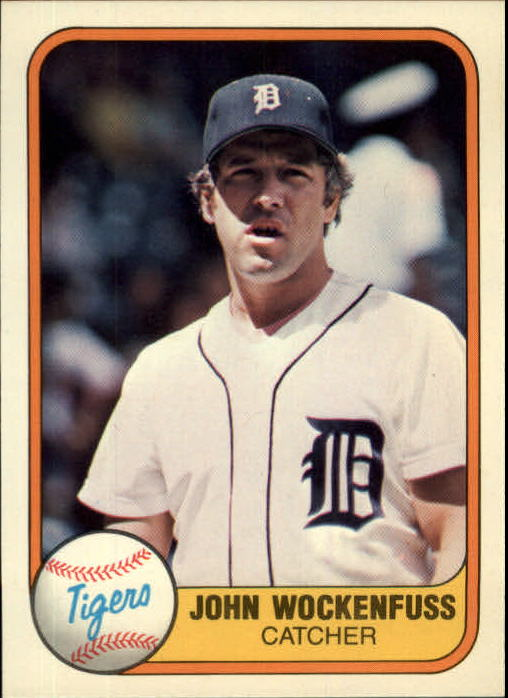 1981 Fleer #472 John Wockenfuss
