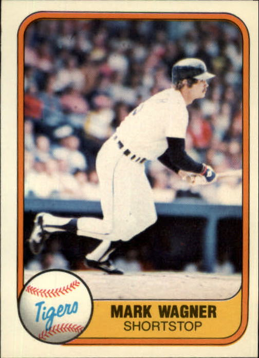1981 Fleer #478 Mark Wagner