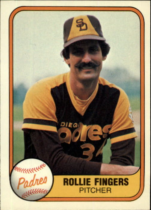 1981 Fleer #485 Rollie Fingers