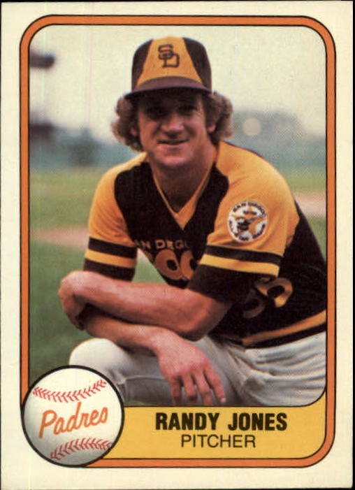 1981 Fleer #487 Randy Jones