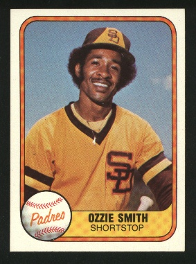 1981 Fleer #488 Ozzie Smith