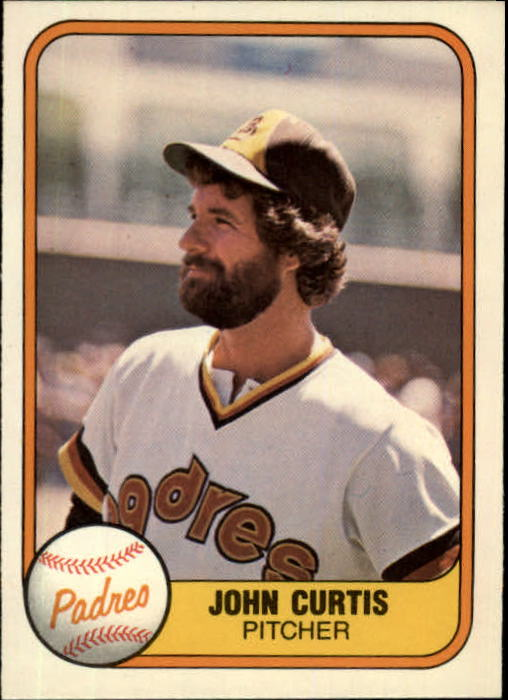 1981 Fleer #491 John Curtis