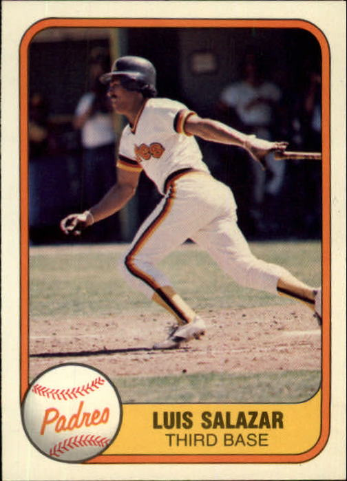 1981 Fleer #501 Luis Salazar RC