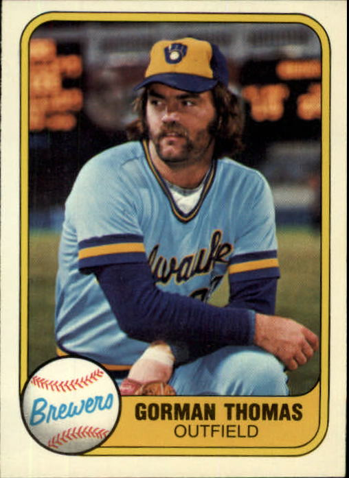 1981 Fleer #507 Gorman Thomas
