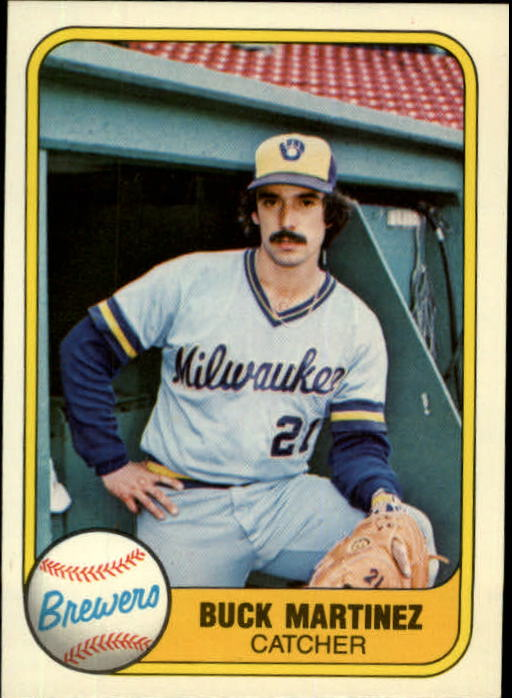 1981 Fleer #526 Buck Martinez