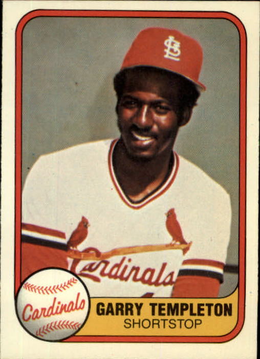 1981 Fleer #529 Garry Templeton