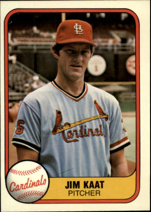 1981 Fleer #536 Jim Kaat