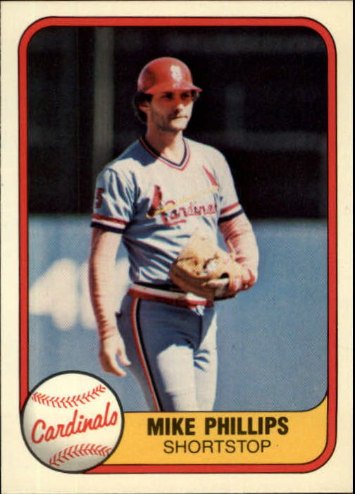 1981 Fleer #538 Mike Phillips